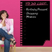 To Do List Wall Decal Board
