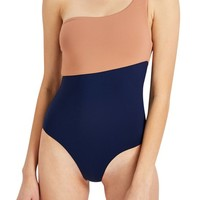 Onia Sienna One-Shoulder Swimsuit | Nordstrom