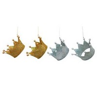 4pk Crown Ornament Set - Wondershop™