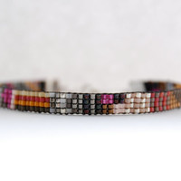 Handwoven Beaded Bracelet