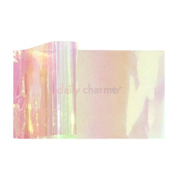Dreamy Opalescent Glass Film Angel Paper Nails – Daily Charme