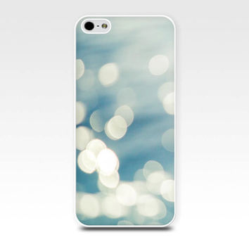 bokeh iphone case 5s iphone 4s case abstract iphone case 4 iphone 5 case nautical iphone case pastel fine art iphone case blue teal girly