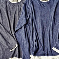 Long Sleeve Double Layer T-shirts  | J.L. Powell