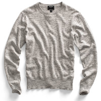 Heather Grey Crew Sweater