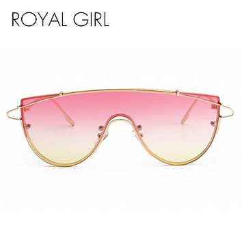 ROYAL GIRL Retro Inspired Women Sunglasses Oversize Eyeglasses