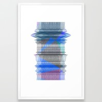 PIPELINE RESONANCE Framed Art Print by Chrisb Marquez