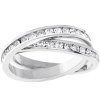 Double-band Eternity Ring, size : 06