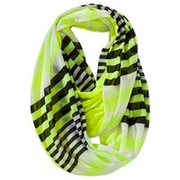 Mossimo Supply Co. Double-Sided Striped Infinity Scarf - Yellow