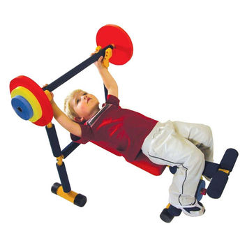 Redmon for Kids Fun and Fitness Kids Weight Bench