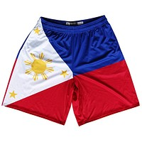 Philippines Flag Lacrosse Shorts