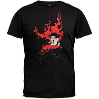 Goth Piano Girl Adult T-Shirt