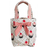 Cherry Cupcakes Lunch Tote Bag from Jessie Steele
