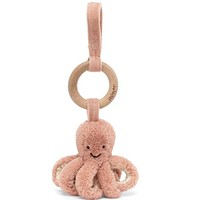 Odell Octopus Wooden Ring Toy by JellyCat