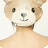Bear Print Shower Cap
