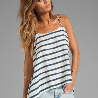 Soft Joie Georgica Stripe Tank in Peacoat/Porcelain from REVOLVEclothing.com