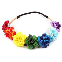 Festival Flower Crown Christmas Headbands Wedding Headpieces F-58
