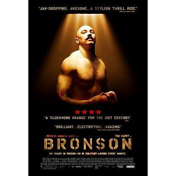Bronson Movie Poster Puzzle Choose a size