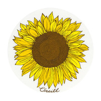 O'neill Sunflower Sticker Clear One Size For Women 26856090001