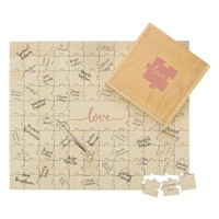 Cathy's Concepts Love Guest Book Puzzle | Nordstrom