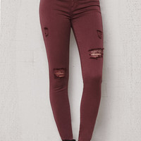 PacSun Pom Ripped Dreamy Jeggings at PacSun.com