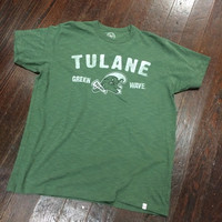 Tulane Gumby Green Wave Scrum Tee