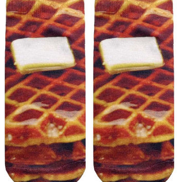 Waffles Ankle Socks