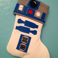 Star Wars R2D2 Holiday Christmas Stocking Artoo
