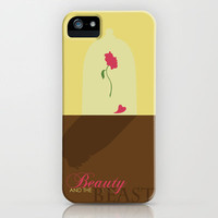 Beauty and the Beast iPhone Case by Citron Vert | Society6