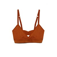 The Bralette - Rust Orange