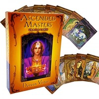 Ascended Masters Oracle Cards Doreen Virtue Card