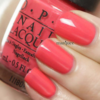 OPI Nail Polish (T30-I Eat Mainely Lobster) **NEW Touring America Collection