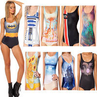 Womens Cool Stylish Design One Piece Swimsuit Swimwear