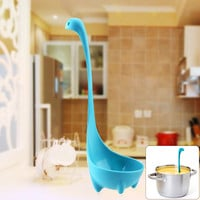 Lovely Nessie Soup Ladle Loch Ness Monster Design Upright Spoon Kitchen Bar