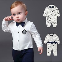 Baby Boy Clothes Cotton born Baby Clothes Baby Boy Clothing Sets Infant Jumpsuit