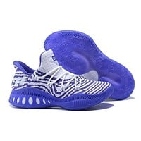 Adidas Performance Men's Crazy Explosive Primeknit Basketball Shoe White/purple
