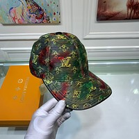 LV Newest Popular Women Men Sports Uv Protection Sun Hat Visor Hat Cap