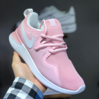 HCXX N1415 Nike Rose Run One 4.0 Ultra Light Jogging Shoes Pink