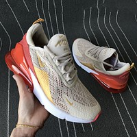 Nike Air Max 270 third-generation shoes Half Palm Air Cushion Mesh Surface Breathable men's and women's casual sports shoes 4