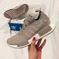 """Adidas"" NMD Fashion Trending Khaki Leisure Running Sports Shoes"