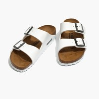 Birkenstock® Arizona Sandals in White Birko-Flor™