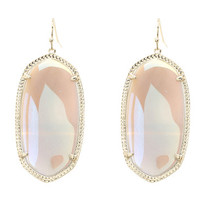 Kendra Scott Danielle Earrings Gold Iridescent Agate - Zappos.com Free Shipping BOTH Ways
