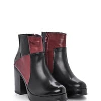 House of Cards Patchwork Boot