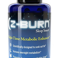 "Z-burn -- 30 Capsules -- Night Time Fat Loss Supplement - ""Sleep Great, Lose Weight!"" Guaranteed Results"
