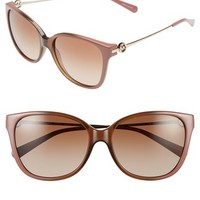 Women's Michael Kors Collection 'Glam' 57mm Retro Sunglasses