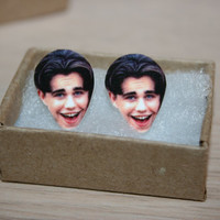 Rider Strong Shawn Boy Meets World Earrings Television Celebrity Jewelry Charms