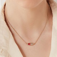 Ombre Sky Stone Pendant Necklace | Urban Outfitters