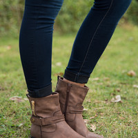 The Carrie Boot - Brown