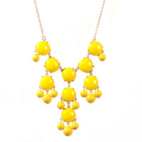 Bubble Jewelry Bibble Chunky Pendant Necklace