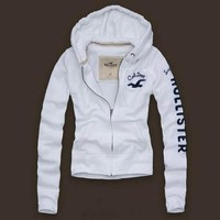 Trendsetter Hollister A&F Women  Fashion Casual Cardigan Jacket Coat Hoodie