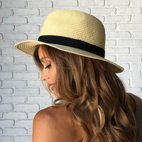 Chase The Sun Straw Hat